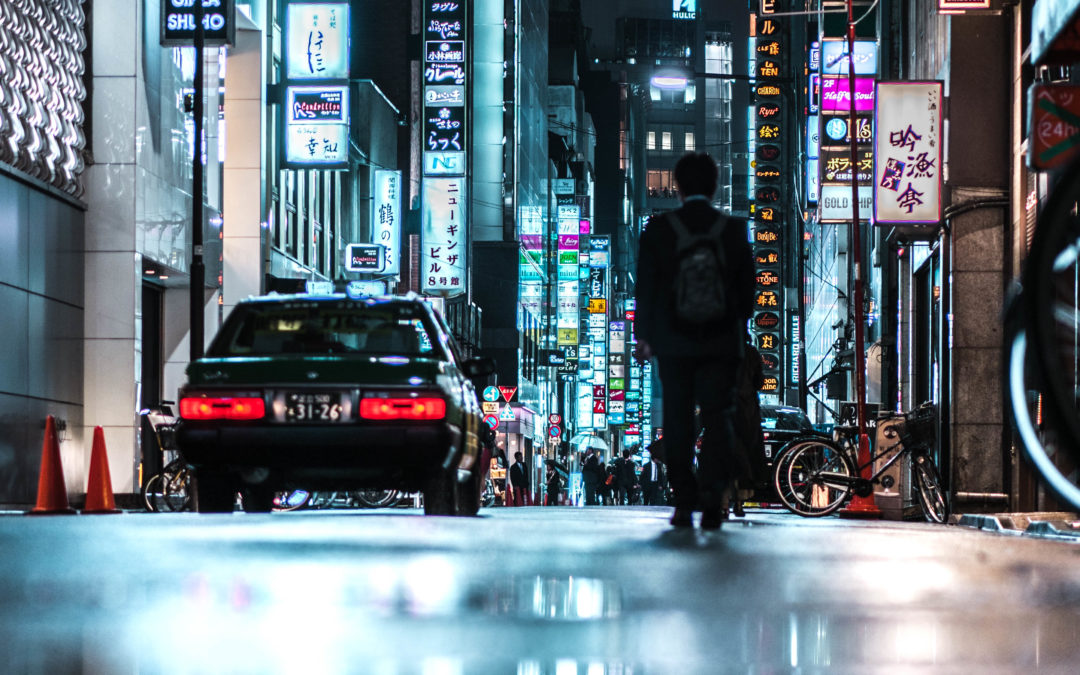 The Blade Runner Streets of Asia