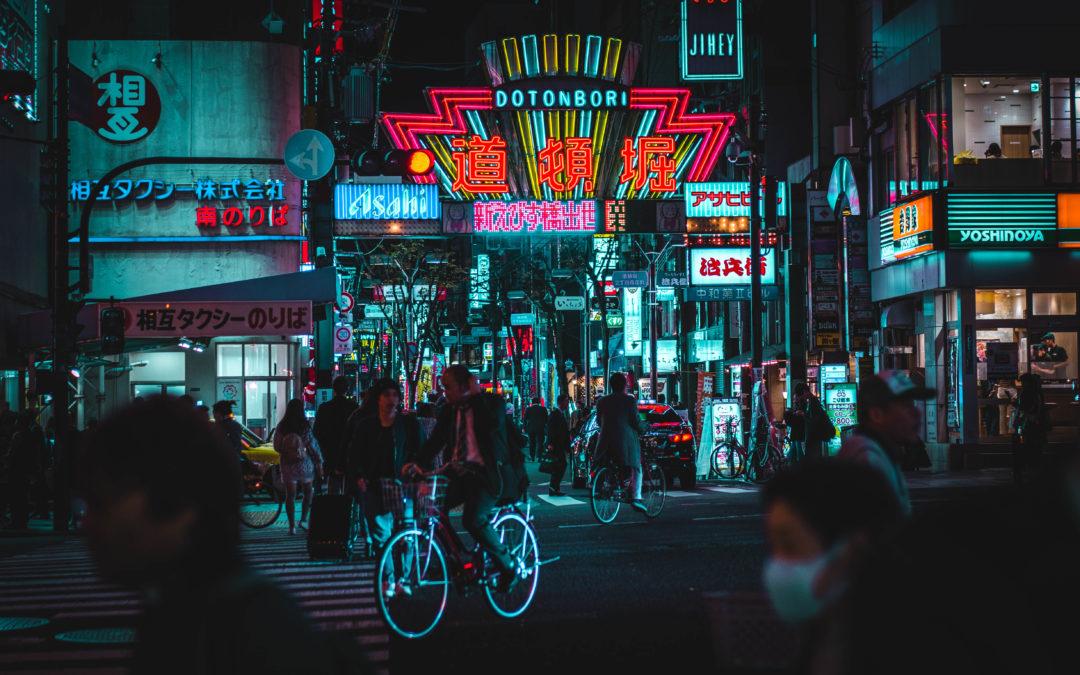 Neon Osaka