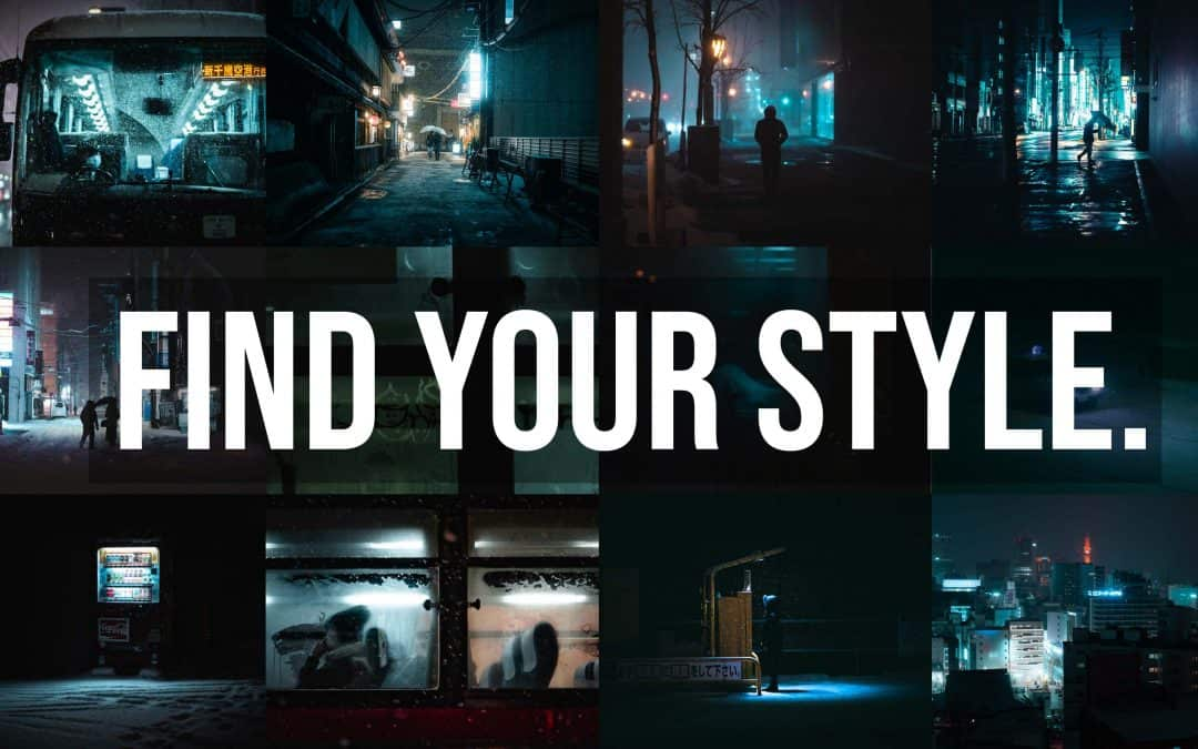 How I found my photography style