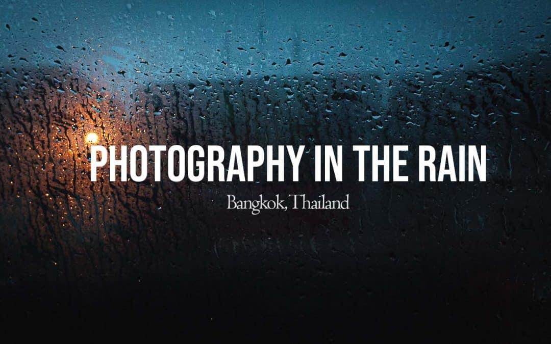 Rainy Day POV Street Photography in Thailand